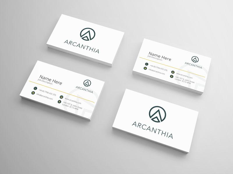 deon-design-portfolio-arcanthis-brand-business-cards