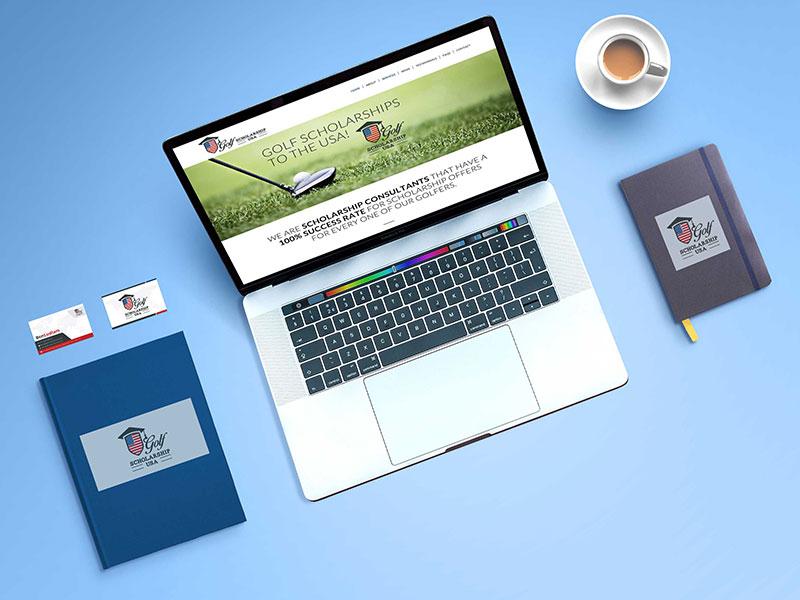 deon-design-golf-scholarship-usa-website-design