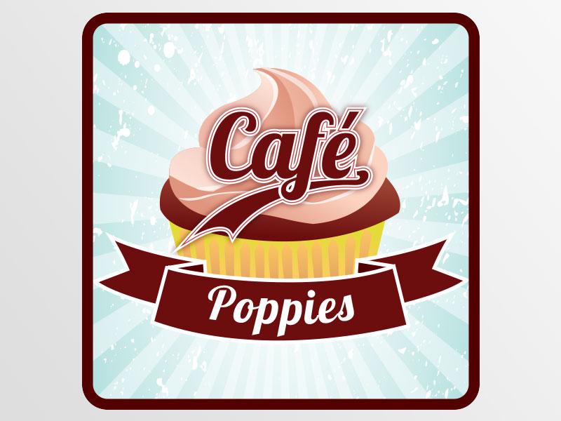 deon-design-poppies-cafe-logo