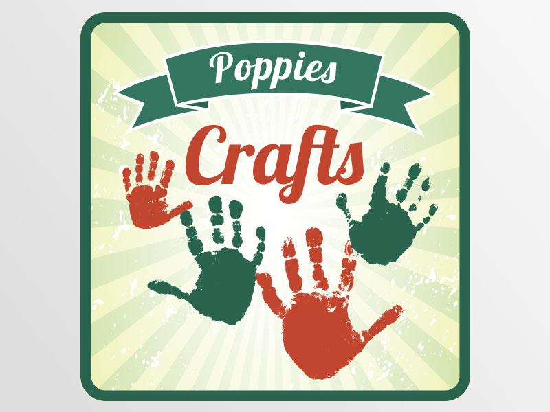 deon-design-poppies-crafts-logo