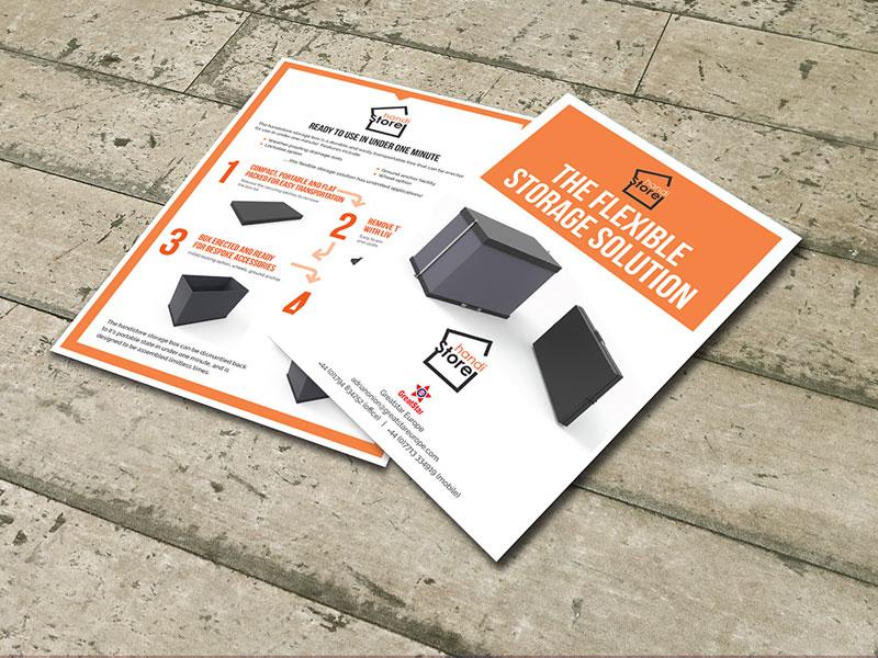deon-design-handi-storage-leaflet-design