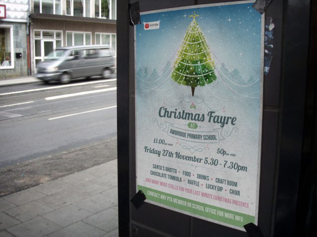 christmas-fayre-poster-design-awbridge-school