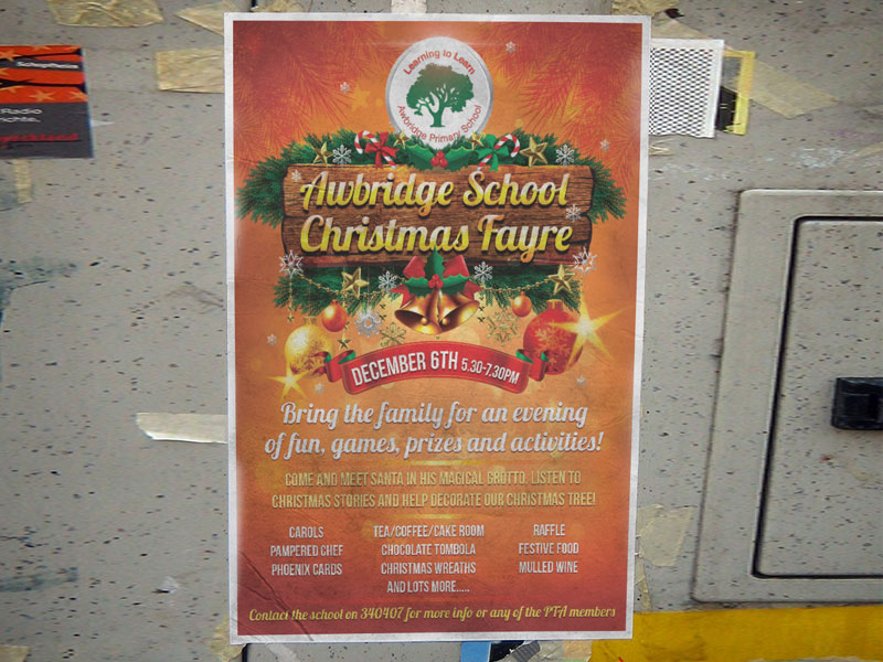 christmas-fete-poster-design-awbridge-school
