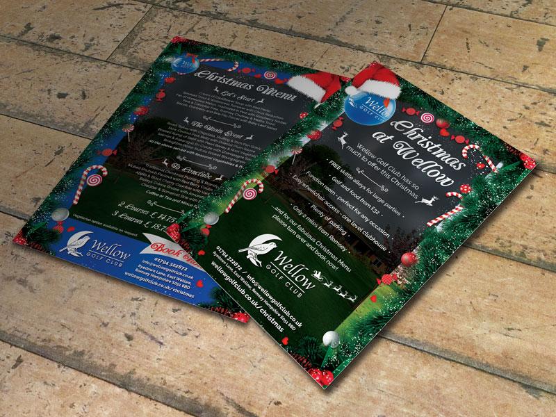 christmas-menu-design-wellow-golf-club
