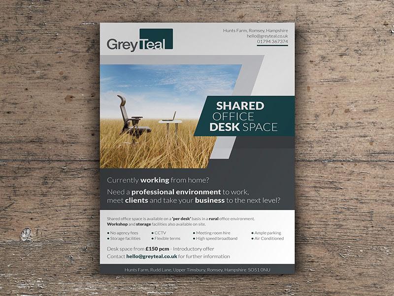 flyer-design-grey-teal-advert-design