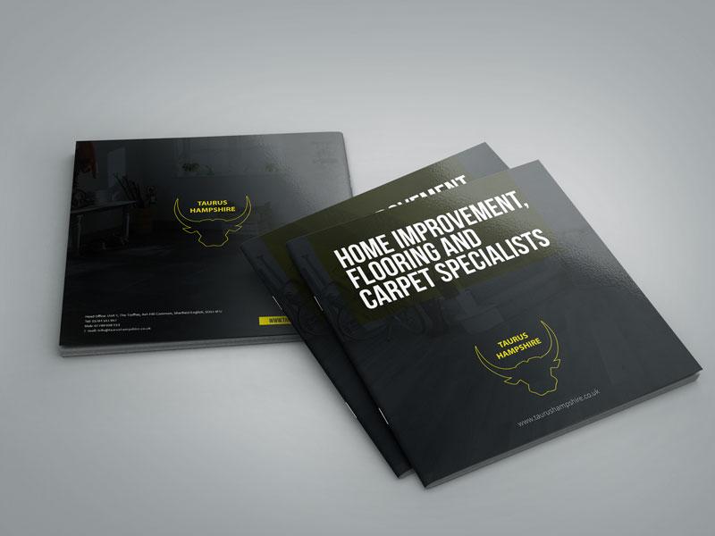 graphic-design-taurus-brochure-cover