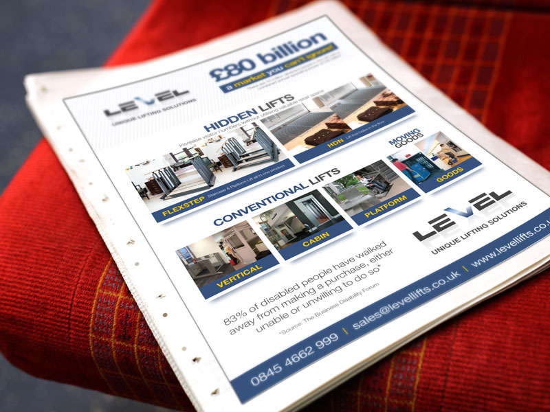 newspaper-advert-level-access-lifts