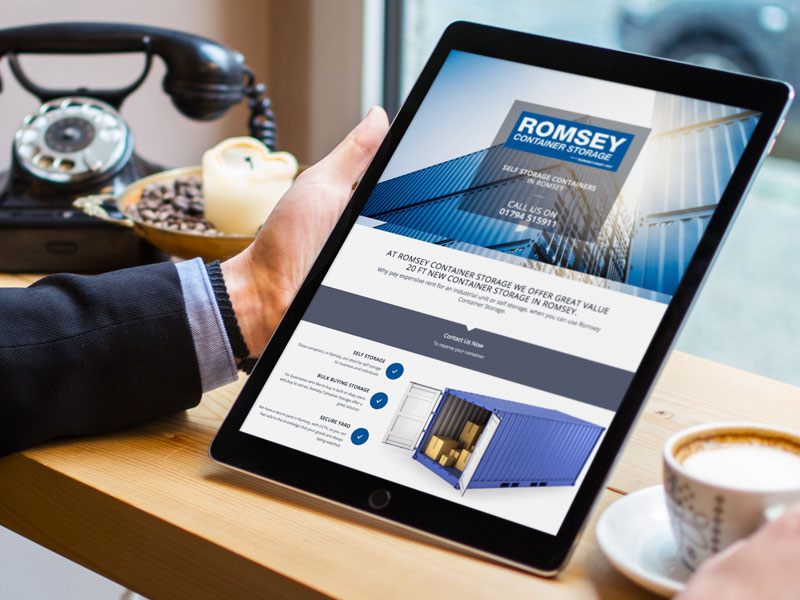 responsive-website-design-romsey-container-storage