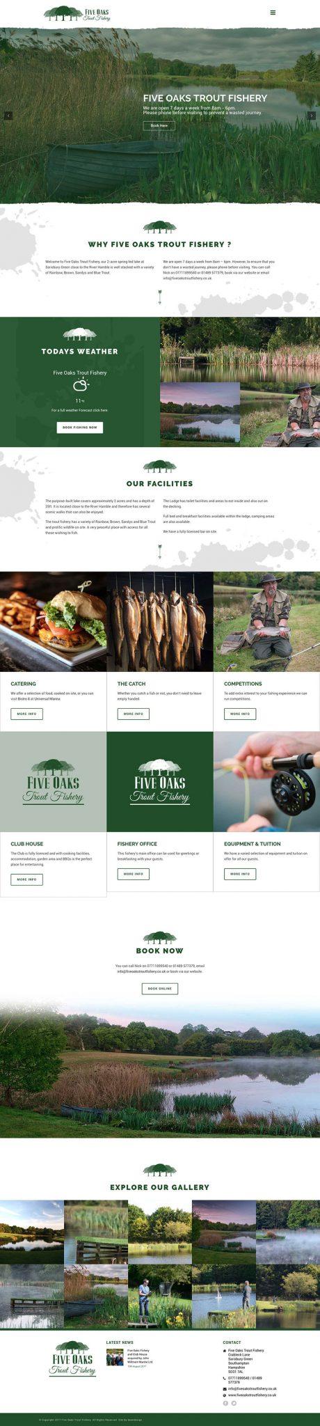 website-design-full-Five-Oaks-Trout-Fishery