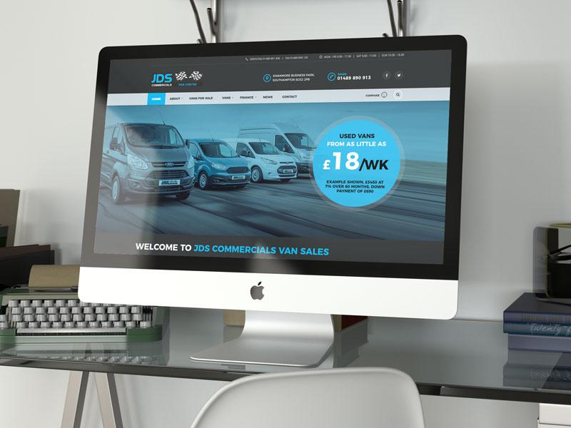 website-design-jds-van-sales