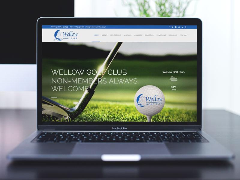 website-design-wellow-golf-club